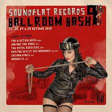 V/A, soundflat records ballroom bash! vol. 9 cover