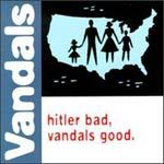VANDALS, hitler bad, vandals good cover