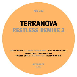 Cover TERRANOVA, restless remixe 2
