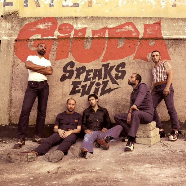 GIUDA, speaks evil cover