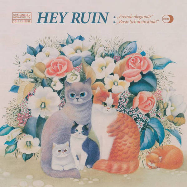 HEY RUIN, s/t cover