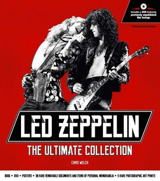 CHRIS WELCH, led zeppelin:the ultimate collection cover