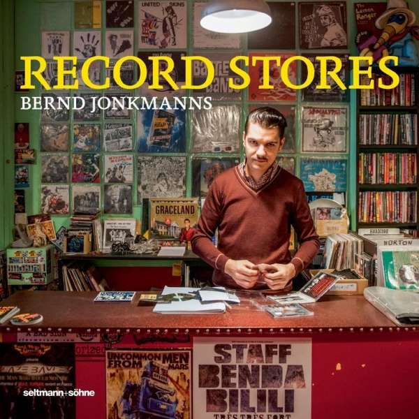 BERND JONKMANNS, record stores cover
