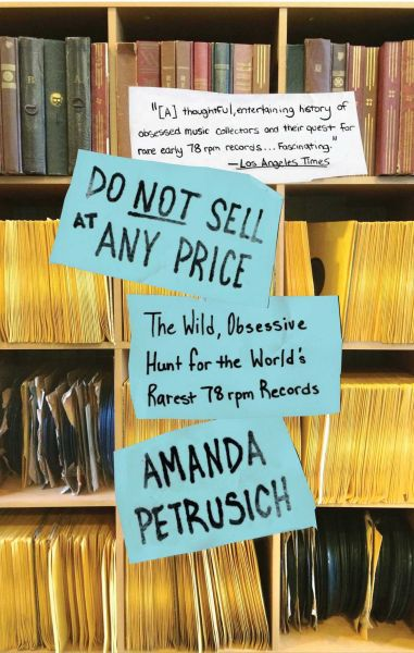 Cover AMANDA PETRUSICH, do not sell at any price