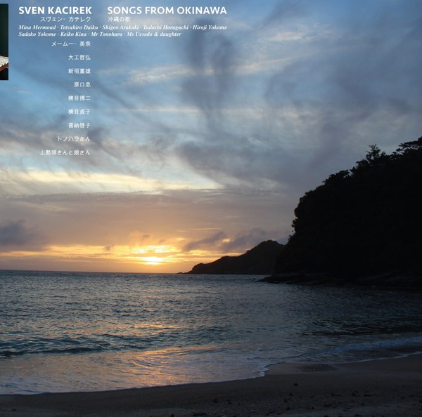 Cover SVEN KACIREK, songs from okinawa