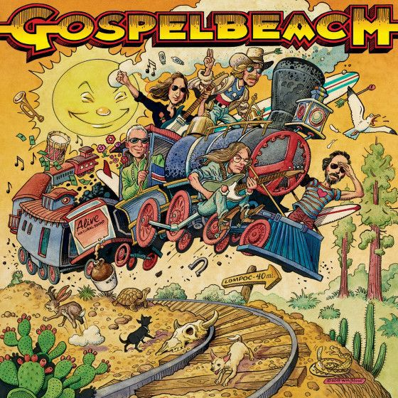 Cover GOSPELBEACH, pacific surf line