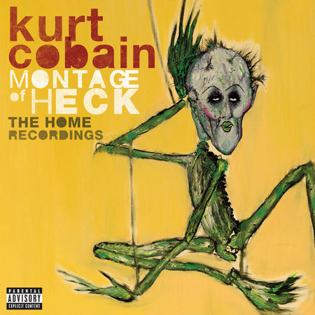 KURT COBAIN, montage of heck - home recordings cover