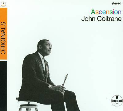 Cover JOHN COLTRANE, ascension