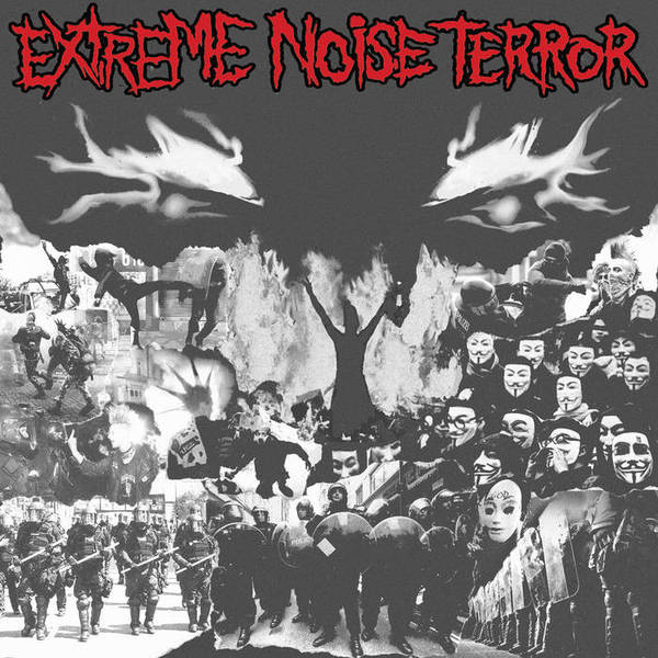 Cover EXTREME NOISE TERROR, s/t