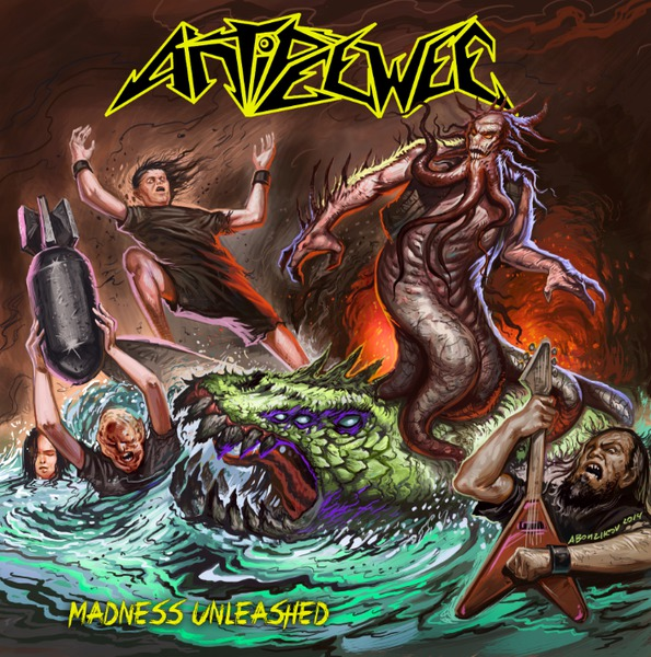 Cover ANTIPEEWEE, madness unleashed