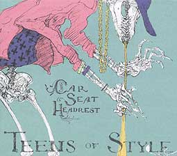 Cover CAR SEAT HEADREST, teens of style