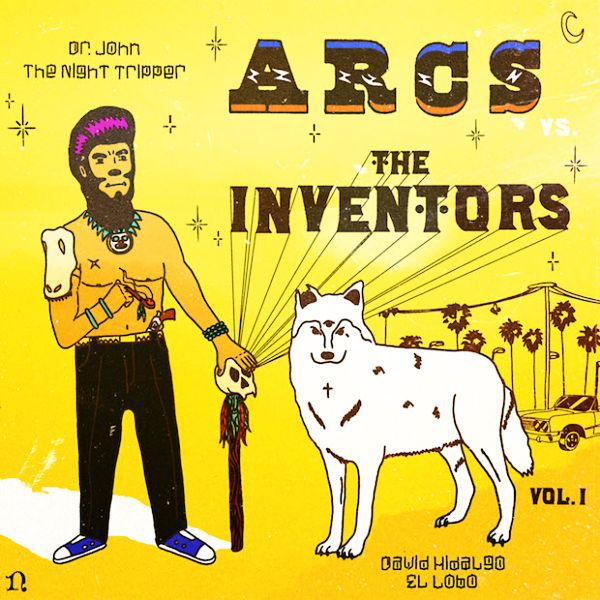 Cover THE ARCS (DAN AUERBACH), the arcs vs inventors vol 1 (black friday 2015)