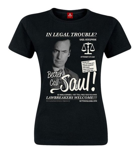 Cover BETTER CALL SAUL, saul goodman (girly) black