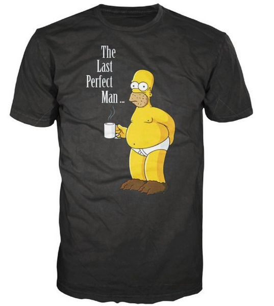 Cover SIMPSONS, last perfect man (boy) black
