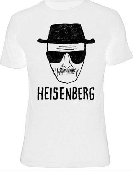 Cover BREAKING BAD, heisenberg (boy) white