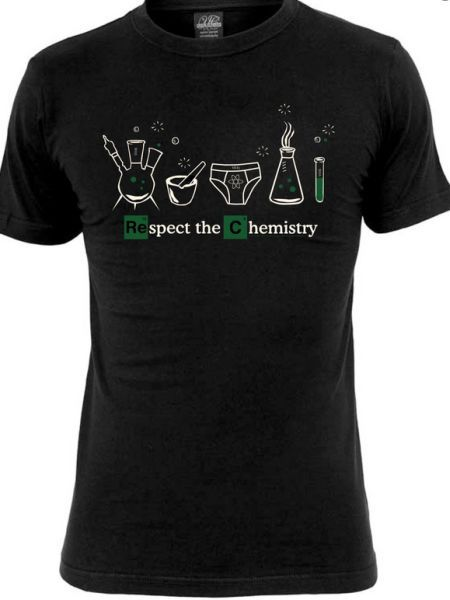 Cover BREAKING BAD, respect the chemistry (boy) black