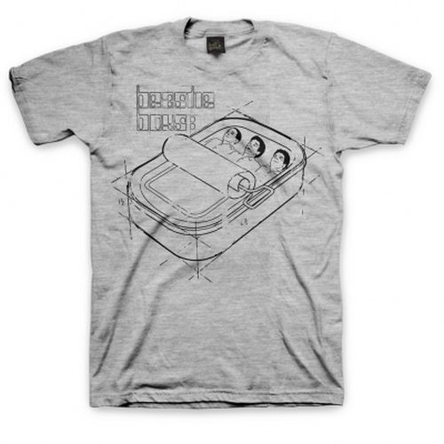 Cover BEASTIE BOYS, sardine blueprint (boy) heather grey