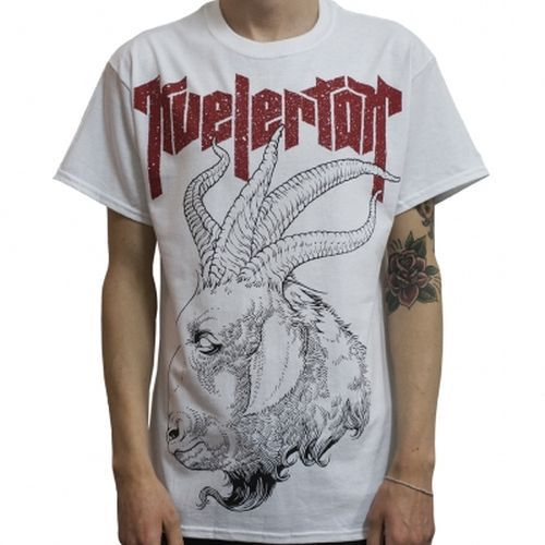 Cover KVELERTAK, nekroskop (boy) white