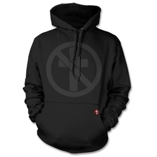 Cover BAD RELIGION, monochrome cross buster (boy) black hoodie