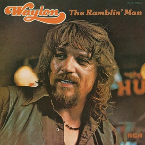 Cover WAYLON JENNINGS, ramblin´man