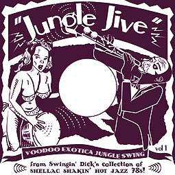 Cover V/A, jungle jive