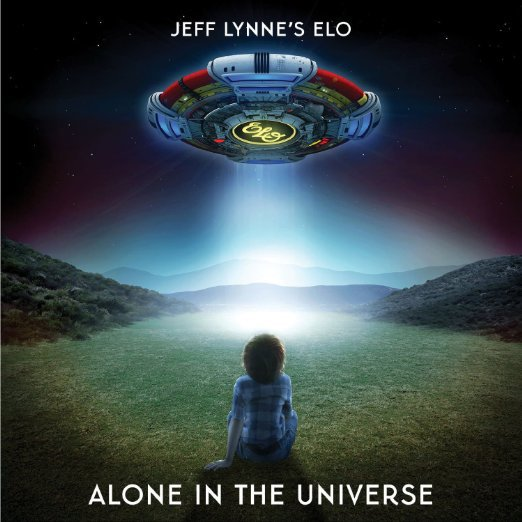 Cover JEFF LYNNE´S ELO, alone in the universe