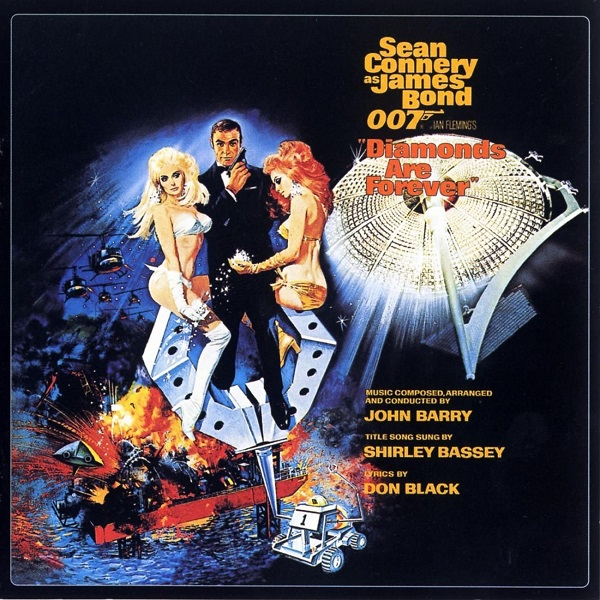Cover O.S.T, james bond : diamonds are forever