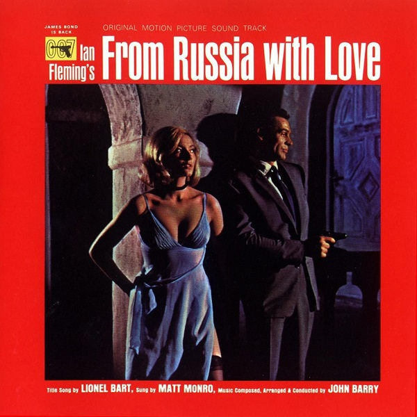 Cover O.S.T, james bond: from russia with love