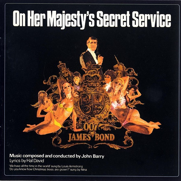 Cover O.S.T, james bond: on her majesty´s secret serv.