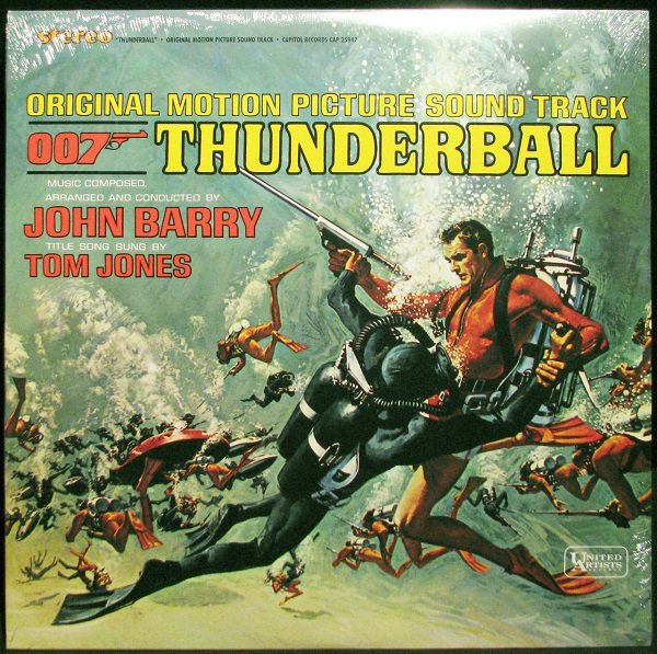 Cover O.S.T, james bond: thunderball