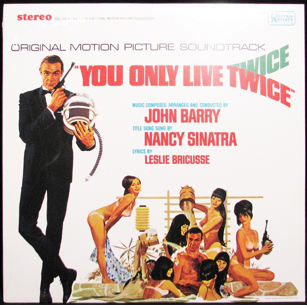 Cover O.S.T, james bond: you only live twice