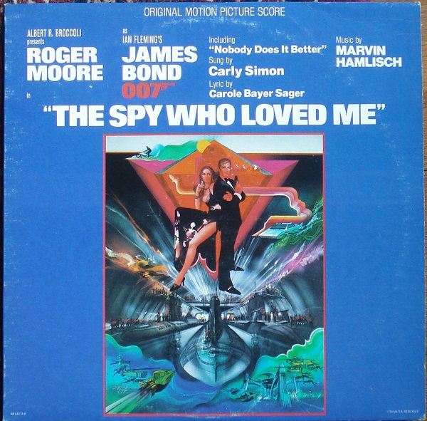 Cover O.S.T, james bond: the spy who loved me