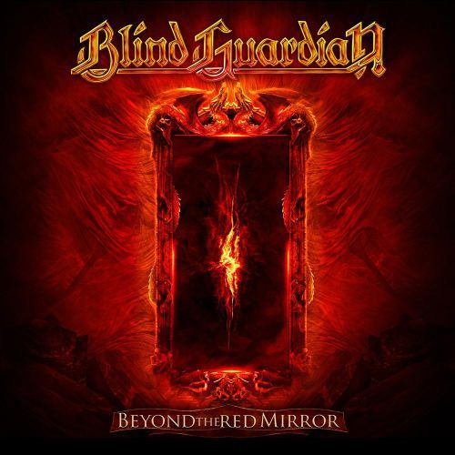 BLIND GUARDIAN, beyond the red mirror cover
