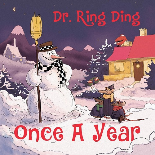 Cover DR. RING DING, once a year