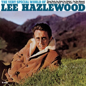 Cover LEE HAZLEWOOD, very special world of...