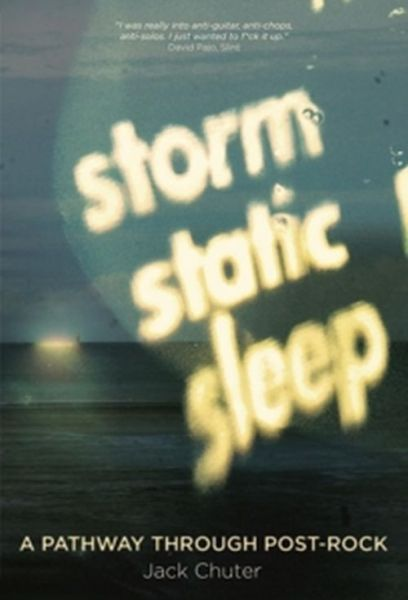 Cover JACK CHUTER, storm static sleep