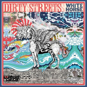 Cover DIRTY STREETS, white horse