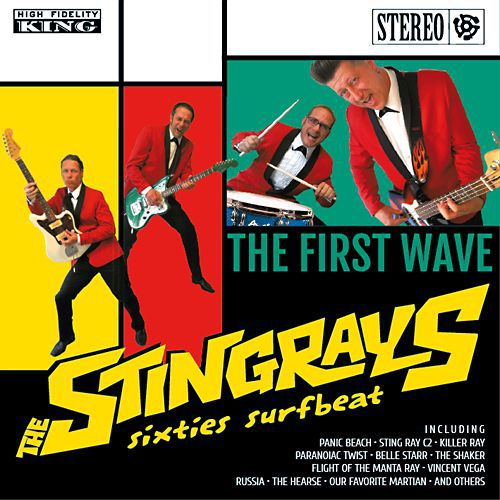 Cover STINGRAYS, first wave