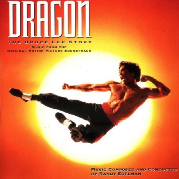 Cover O.S.T., dragon: the bruce lee story (randy edelman)