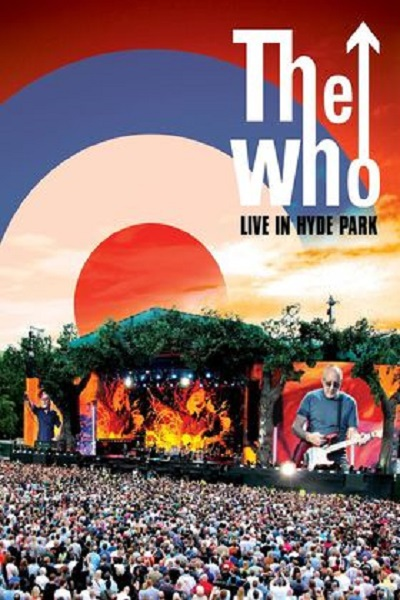 Cover WHO, live in hyde park