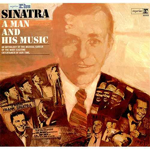 Cover FRANK SINATRA, a man and his music