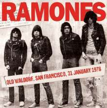 Cover RAMONES, old waldorf, san francisco 31st january 1978