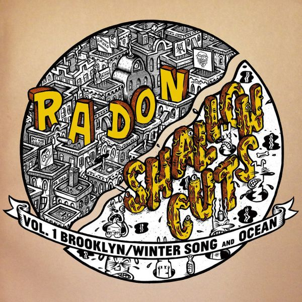 Cover RADON / SHALLOW CUTS, split