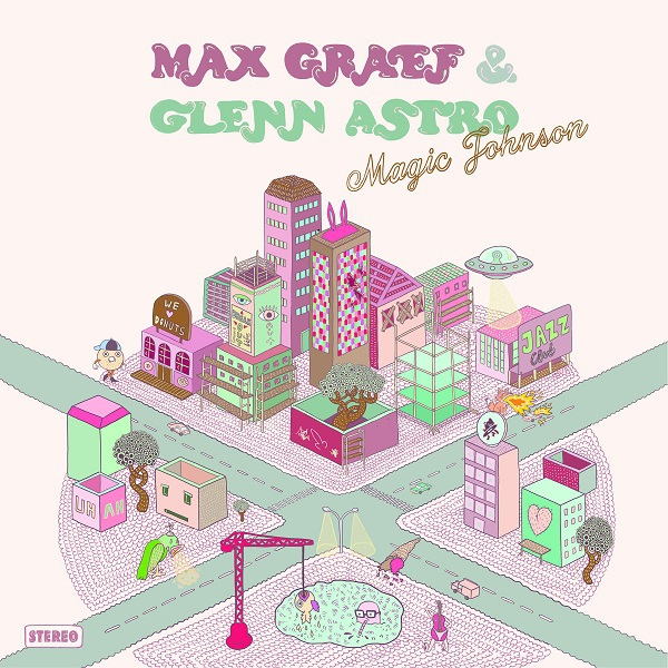 Cover MAX GRAEF & GLENN ASTRO, magic johnson