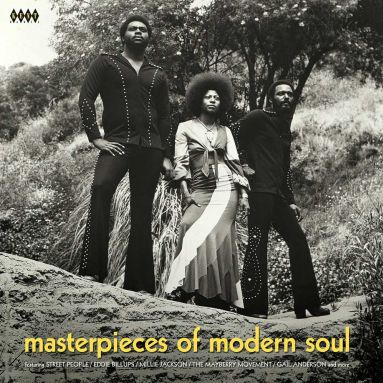 Cover V/A, masterpieces of modern soul
