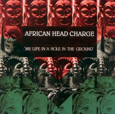 AFRICAN HEADCHARGE, my life in a hole in the ground cover