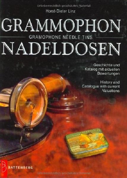 HORST-DIETER LINZ, grammophon-nadeldosen/gramophone needle twins cover