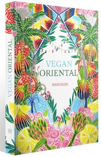 PARVIN RAZAVI, vegan oriental cover
