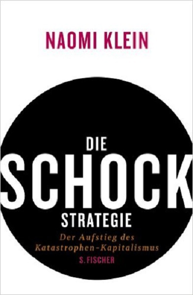 Cover NAOMI KLEIN, die schock-strategie