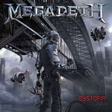 Cover MEGADETH, dystopia